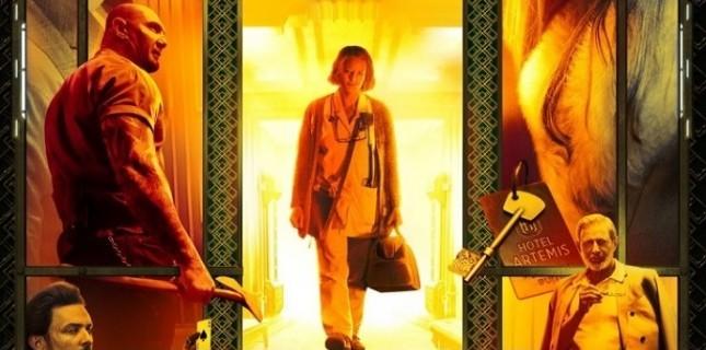 Jodie Foster'lı Hotel Artemis'ten afiş yayınlandı