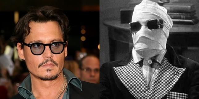 Johnny Depp'li 'Görünmez Adam'da beklenmedik gelişme