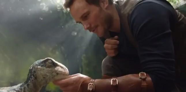 Jurassic World'ün devam filminden ilk görüntü yayınlandı!