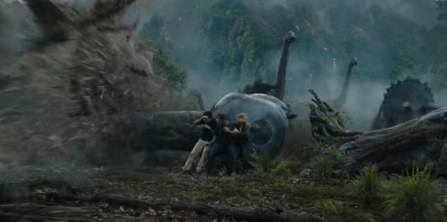 Jurassic World'ün devam filminden yeni görüntü yayınlandı!