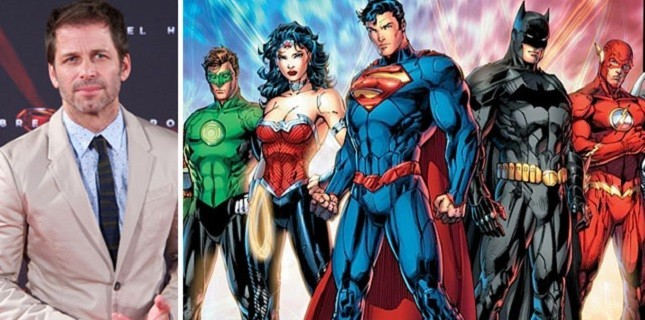 Justice League'in Yönetmeni Zack Snyder Oldu