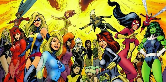 Kadın Kahramanlardan Oluşan Avengers!