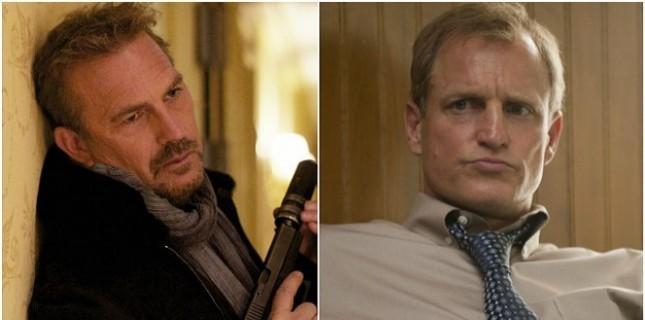 Kevin Costner ve Woody Harrelson 'Highwaymen'de buluşuyor