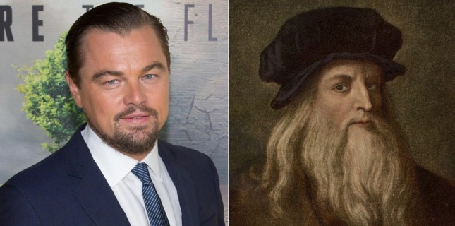 Leonardo DiCaprio, Leonardo da Vinci'ye hayat verecek
