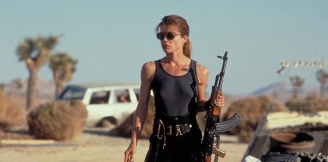Linda Hamilton, Terminator'e Geri Dönüyor!