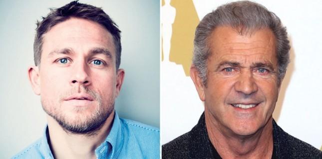 Mel Gibson Charlie Hunnam'ın Aksiyon Filmi Waldo'ya Katıldı
