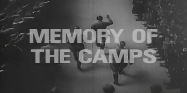 Memory of the Camps İlk Kez Gösterilecek