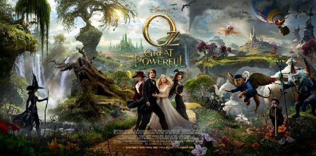Muhteşem ve Kudretli Oz'un yeni afişi yayınlandı