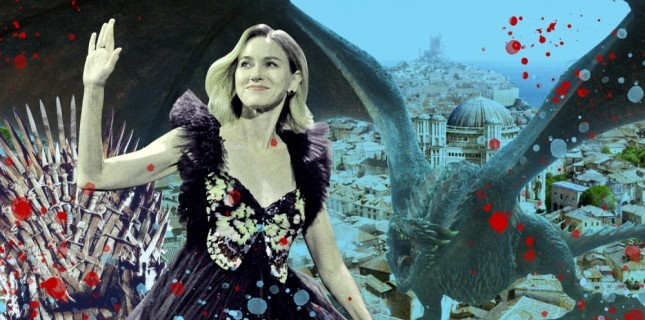 Naomi Watts, 'Game Of Thrones'un Devam Projesinin Başrolünde Oynayacak