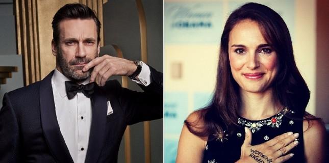 Natalie Portman'lı 'Soluk Mavi Nokta'ya Jon Hamm de katıldı