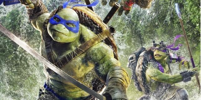 Ninja Kaplumbağalar: Gölgelerin İçinden Filminin Türkçe Afişi ve Karakter Afişleri Yayınlandı!