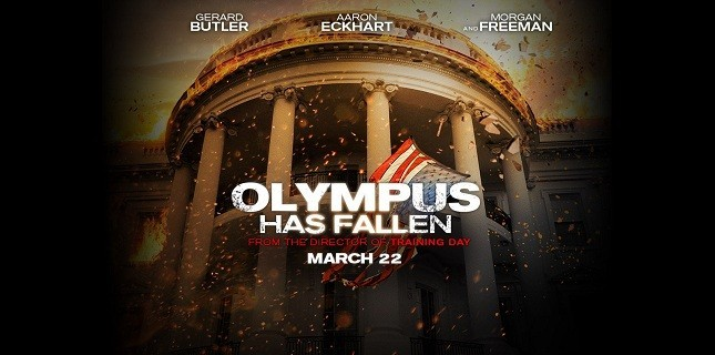 Olympus Has Fallen Filminden Çarpıcı Fotoğraflar