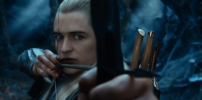 Orlando Bloom Hobbit'e Böyle Veda Etti