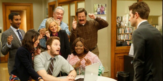 Parks And Recreation Ekibi Tekrar Bir Arada