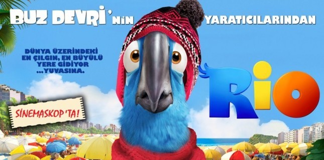 Rio 2 Bu Hafta Sinemaskop'ta!