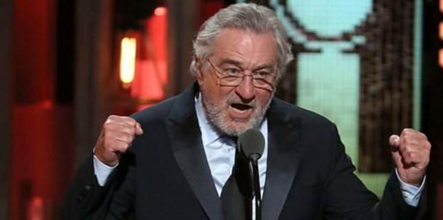 Robert De Niro Ödül Töreninde Amerikan Başkanına Hakaretler Yağdırdı