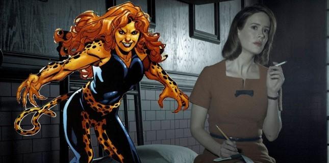Sarah Paulson, Wonder Woman 2'de 'Cheetah' rolünü istiyor
