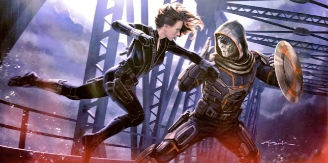Scarlett Johansson'lı Black Widow'dan İlk Afiş!