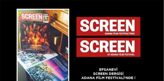 Screen International Adana Film Festivali'nin Nabzını Tutacak