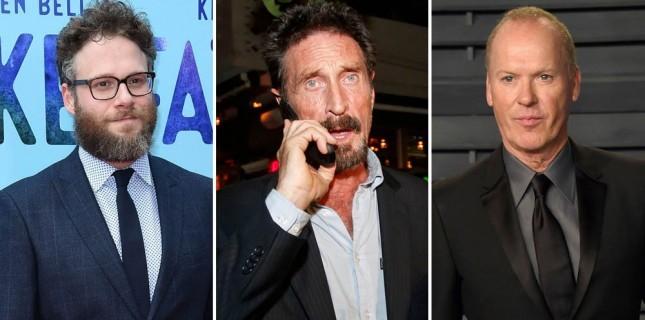 Seth Rogen ve Michael Keaton, John McAfee Konulu Yeni Filminde Başrolleri Paylaşacak