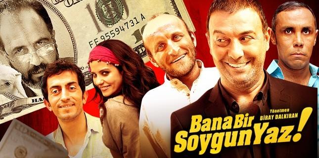 Sezonun en iddialı komedi filmlerinden 'Bana Bir Soygun Yaz'         14 Aralık'ta vizyonda!