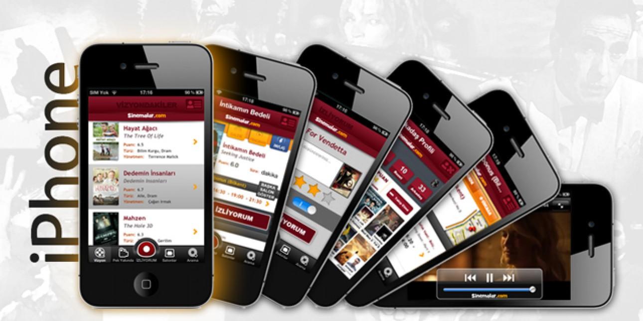 Sinemalar.com Size Özel İphone Uygulaması!