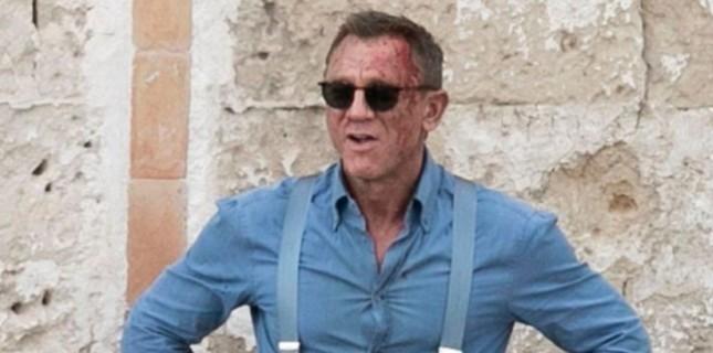 Son Bond Filmi No Time To Die'dan Yeni Kareler