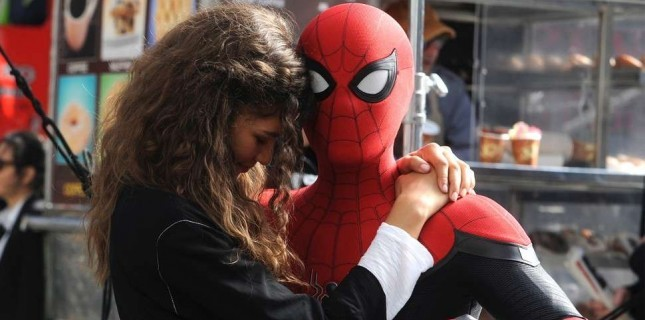 Spider-Man: Far From Home Setinden Yeni Görseller Geldi