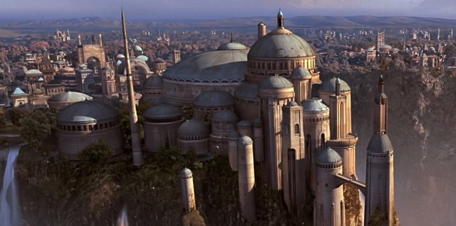 Star Wars mimarisine Ayasofya ve Sultanahmet ilham vermiş!