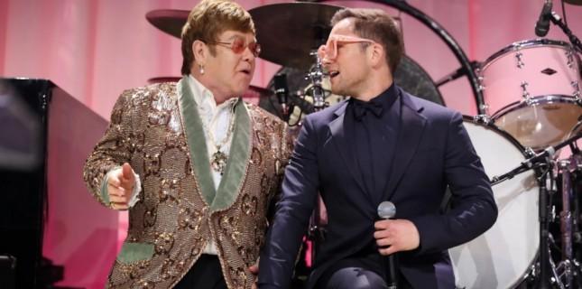 Taron Egerton'ın Elton John'u Canlandırığı Rocketman'in Yeni Posteri