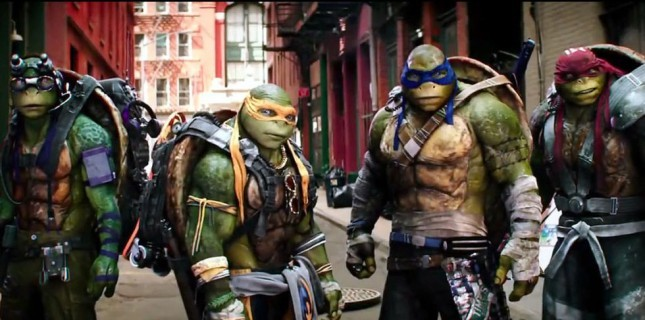 Teenage Mutant Ninja Turtles'ın Yeni Filmi Yolda