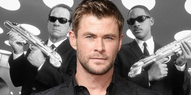'Thor' Chris Hemsworth 'Men in Black 4' kadrosunda!