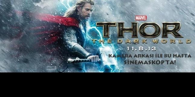 Thor Karanlık Dünya Bu Hafta Sinemaskop'ta!