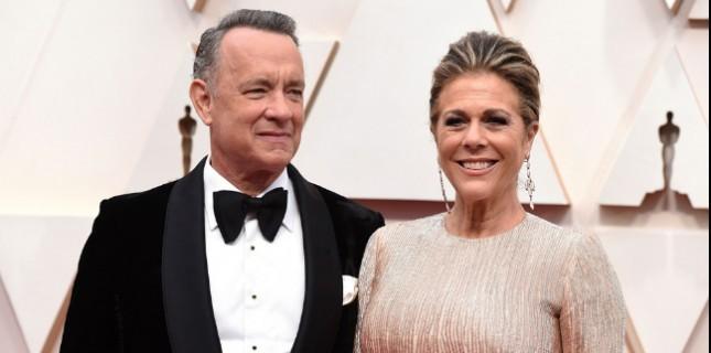 Tom Hanks ve Rita Wilson Hastaneden Çıktı