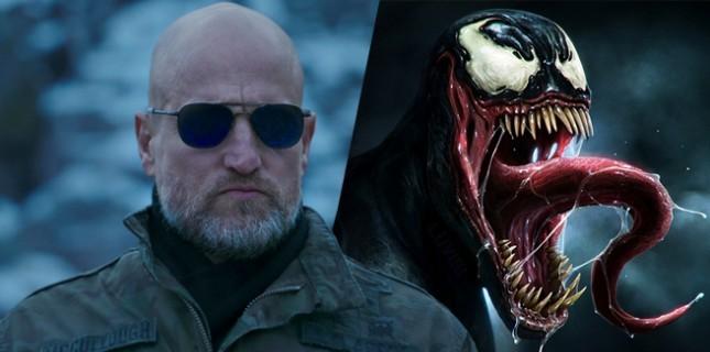 Tom Hardy'li 'Venom'da Woody Harrelson sürprizi