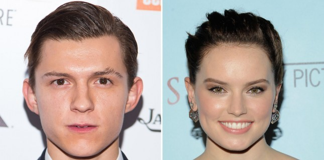 Tom Holland ve Daisy Ridley 'Chaos Walking'de Buluştu
