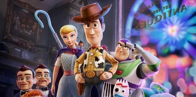 Toy Story 4 Karakterleri İçin Hazırlanan Özel Posterler