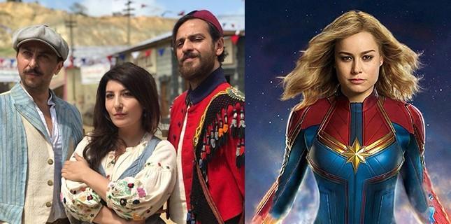 Türk İşi Dondurma ve Captain Marvel'ın Zirve Yarışı Devam Etti!
