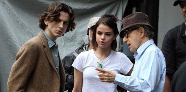 Woody Allen'ın Yeni Filmi 'A Rainy Day In New York'tan İlk Kare Geldi