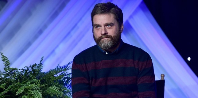 Zach Galifianakis Başrollü Between Two Ferns: The Movie'den İlk Görsel!