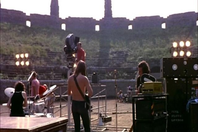 Pink Floyd: Pompeii Konseri Resimleri 3