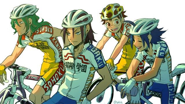 Yowamushi Pedal Resimleri