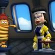 Garfield Süper Kahraman Resimleri 13