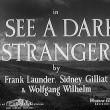 I See A Dark Stranger Resimleri